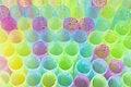 Free Plastic Straws For Juice Royalty Free Stock Photo - 18508255