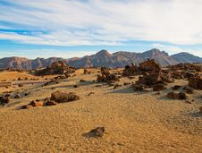 Free Tenerife Rocks In Sand Stock Photo - 18500700