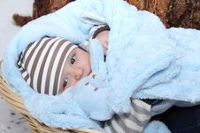 Free Winter Baby Royalty Free Stock Photography - 18502117