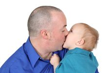 Free Father And Son Royalty Free Stock Photos - 18502128