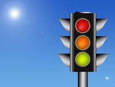 Free Traffic Light Stock Images - 18502244