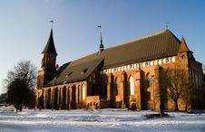 Free Old Cathedral In Kaliningrad Royalty Free Stock Photos - 18502488