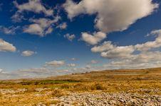 Free Irish Landscape - The Burren Royalty Free Stock Photography - 18502527