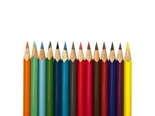 Free Colored Pencils Stock Images - 18502624