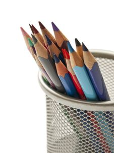Free Colored Pencils Stock Photos - 18503073