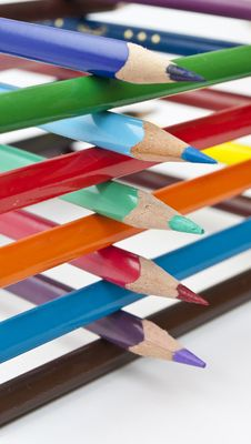 Free Colored Pencils Stock Image - 18503131