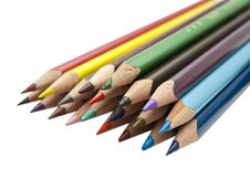 Free Colored Pencils Royalty Free Stock Photo - 18503185