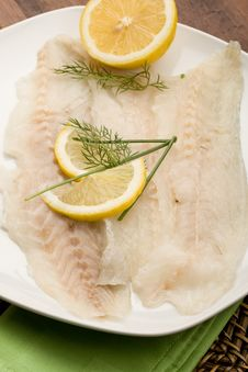 Free Sea Bass Appetizer Stock Photography - 18503302