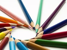 Free Color Pencil Royalty Free Stock Image - 18503346