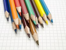 Free Colored Pencils Stock Image - 18503401