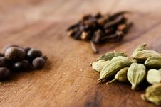 Free Spices Royalty Free Stock Images - 18505989