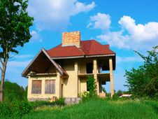 Free Unfinished Abandoned House Royalty Free Stock Photography - 18506537