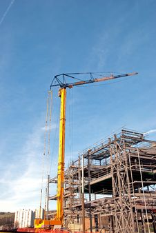 Free Tower Crane And Steelwork Stock Images - 18507644