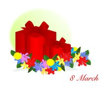 8 March Gifts, Cdr Vector