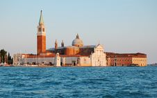 Free Island Of San-Giorgio In Evening Stock Images - 18509554