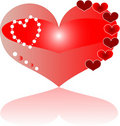 Free Detailed Love Red Heart Greeting Stock Image - 18517161