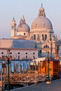 Free Church At Grand Canal Venice Stock Photo - 18519130