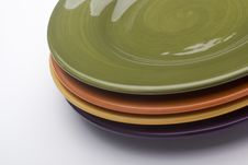 Free Ceramic Plates Royalty Free Stock Images - 18510469