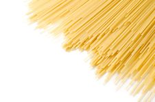 Free Uncooked Spaghetti Royalty Free Stock Photo - 18510555