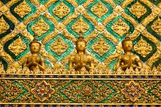 Free Thai Traditional Angle In Wat Phra Kaew Temple Royalty Free Stock Photo - 18510625