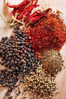 Free Spices Royalty Free Stock Photo - 18511415