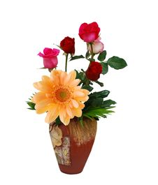 Free Flowers Vase  Natural Royalty Free Stock Photo - 18512045