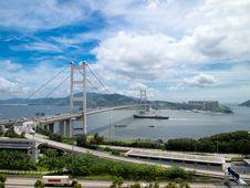 Free Tsing Ma Bridge Stock Photo - 18512190