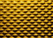 Free Yellow Metallic Background Stock Photos - 18512293