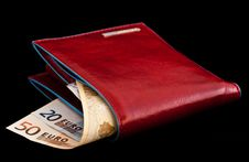 Free Red Wallet Royalty Free Stock Image - 18512576