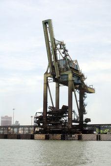 Free Cargo Crane Stock Image - 18512621