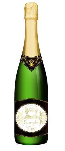 Free Champagne Bottle Royalty Free Stock Photo - 18513215