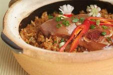 Free Claypot Rice Stock Images - 18513234
