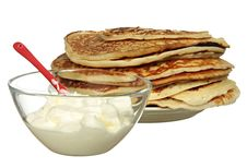 Free Pile Of Pancakes Stock Images - 18513614