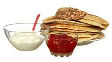 Free Pile Of Pancakes Stock Photos - 18513623
