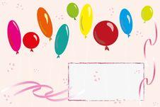 Free Balloon Background Stock Photo - 18513970
