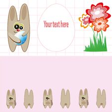 Free Easter Card Royalty Free Stock Images - 18513979