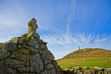 Free Cape Cornwall Royalty Free Stock Image - 18514706
