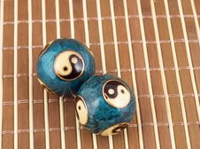Chinese Balls Royalty Free Stock Image