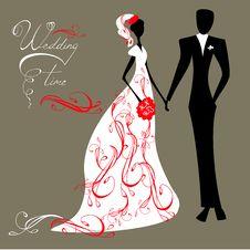 Free Wedding Background Royalty Free Stock Photos - 18515648