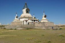 Free Monastery In Mongolia Stock Photography - 18516042