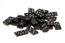 Free Bunch Of Dominoes Royalty Free Stock Photo - 18516165