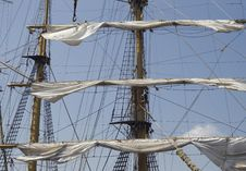 Free Mast Of A Tall Ship Stock Photography - 18516402