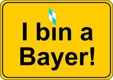 Free Bavaria Plate Royalty Free Stock Photo - 18516975