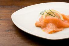 Free Smoked Salmon Royalty Free Stock Images - 18517259