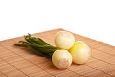Free Onion Isolated On White Stock Photos - 18518063