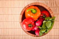 Free Different Ripe Vegetables Royalty Free Stock Photography - 18518347