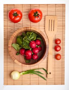 Free Different Ripe Vegetables Royalty Free Stock Image - 18518406