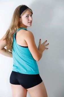 Free Fitness Woman Stock Photography - 18518702