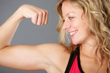 Young Woman Fitness Royalty Free Stock Photography