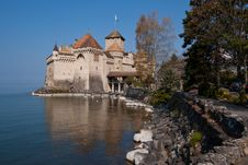 Free Chateau De Chillon Switzerland Royalty Free Stock Photography - 18519047